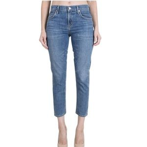Citizens of Humanity Elsa Mid-rise Cropped Jeans
